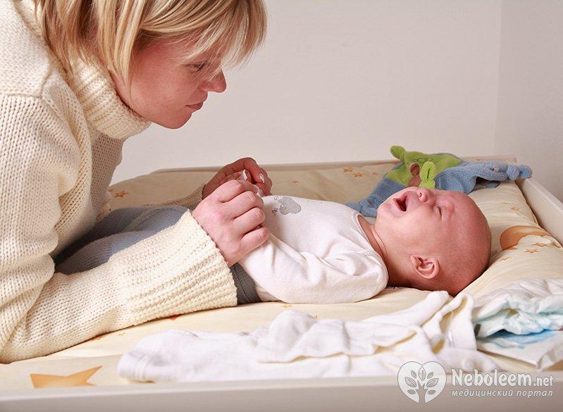 почему месячный ребенок капризничает