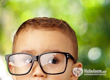 Норма зрения у детей