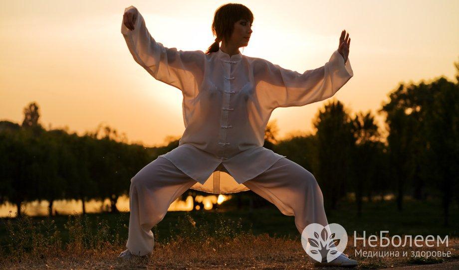 Китайська дихальна гімнастика цигун - вправи