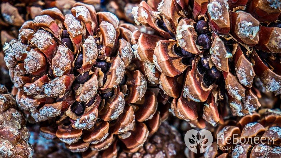 что содержится в кедровых орехах