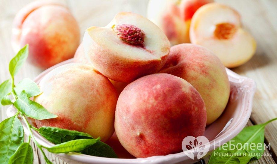 Персик - калорийность и свойства Польза и вред