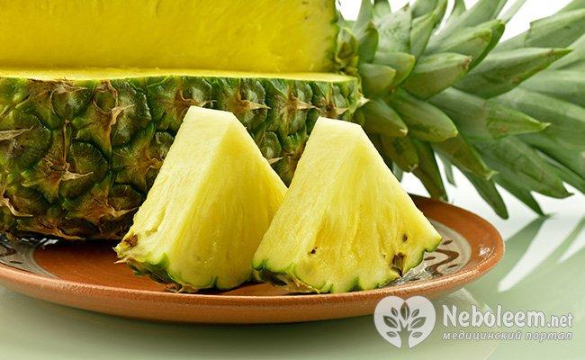 чай для похудения ананас с лимоном
