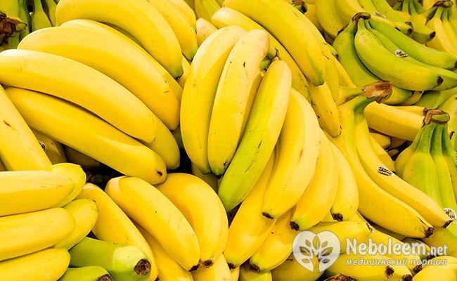 8 бананів для нормального пульсу