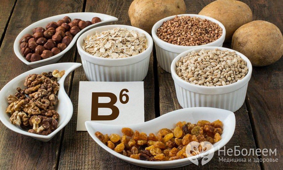B6 витамин для чего