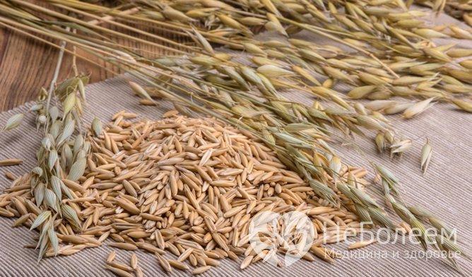 Цельное зерно овса