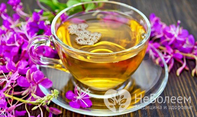 иван чай влияет на потенцию