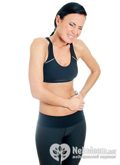 Болит живот слева выше пупка у женщин