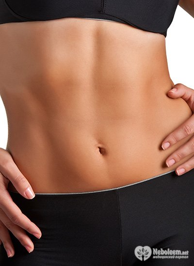 как убрать жир с живота девушке упражнения