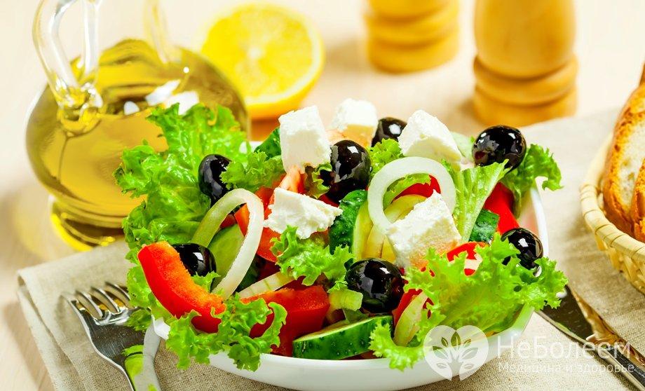 Диета овощная для похудения