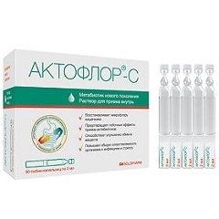 Раствор для приема внутрь Актофлор-С