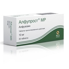 Таблетки пролонгированного действия Алфупрост МР таблетки