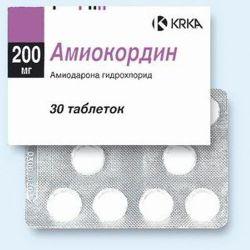 Амиокордин – инструкция по применению, показания, дозы