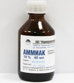 Аммиак – инструкция по применению, показания, дозы