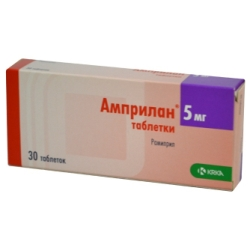 Таблетки Амприлан 5 мг