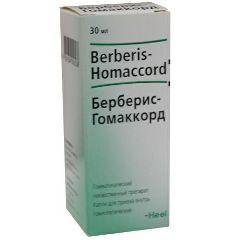 Гомеопатические капли для приема внутрь Берберис-Гомаккорд