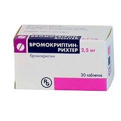 Таблетки Бромокриптин-Рихтер