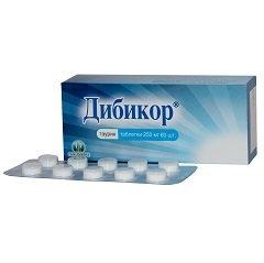 Таблетки Дибикор