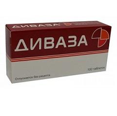 Таблетки для рассасывания Диваза