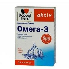 Доппельгерц омега 3 для беременных 98