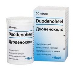 Таблетки для рассасывания Дуоденохель