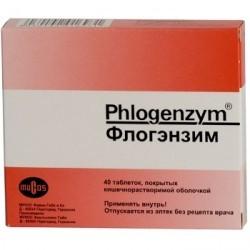 Таблетки, покрытые кишечнорастворимой оболочкой, Флогэнзим
