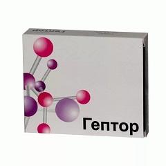 Таблетки, покрытые кишечнорастворимой оболочкой, Гептор