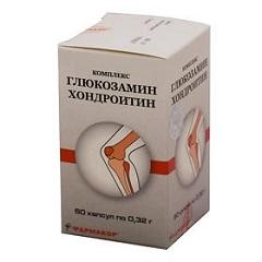 Капсулы Глюкозамин Хондроитин Комплекс