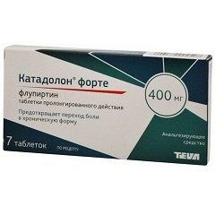 Таблетки пролонгированного действия Катадолон форте