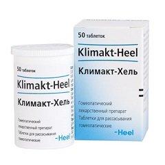 Таблетки для рассасывания гомеопатические Климакт-Хель