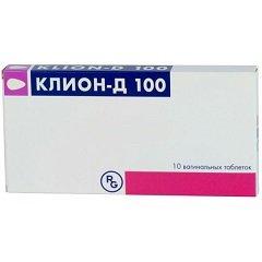Таблетки вагинальные Клион-Д 100