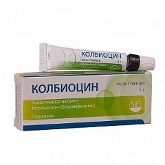 Мазь глазная Колбиоцин