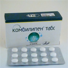 Таблетки, покрытые пленочной оболочкой, Комбилипен табс
