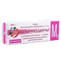 Крем для наружного применения Комфодерм М2
