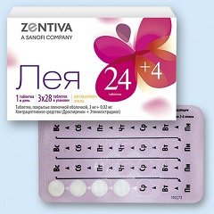 Леа противозачаточные таблетки