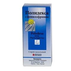 Спрей назальный Полидекса с фенилэфрином