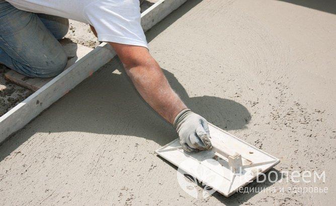 Строительные материалы, опасные для здоровья: бетон
