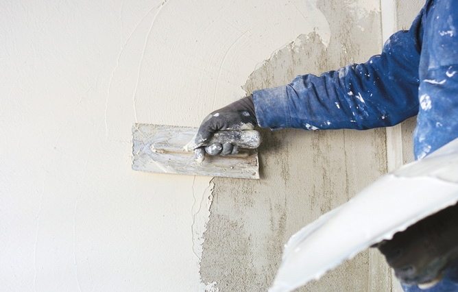 Строительные материалы, опасные для здоровья: сухие штукатурные смеси