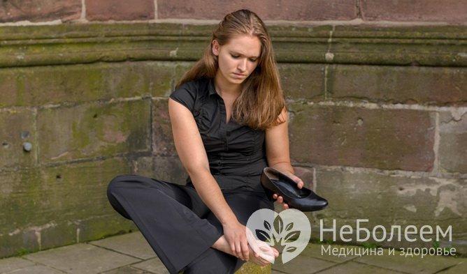 Симптомы тромбоза глубоких вен: жар в конечности