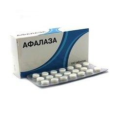 Таблетки для рассасывания Афалаза