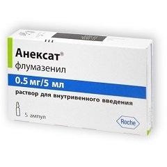 Раствор для внутривенного введения Анексат