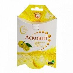Таблетки шипучие лимонные Асковит