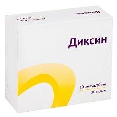 Раствор для внутриполостного и наружного применения Диксин