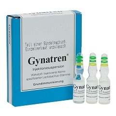 Суспензия для внутримышечных инъекций Гинатрен