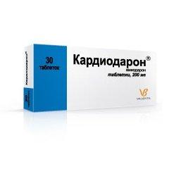 Таблетки Кардиодарон