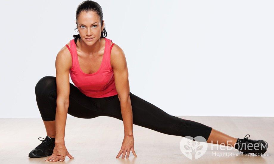 Эффективные упражнения для внутренней стороны бедра