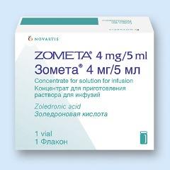 Концентрат для приготовления раствора для инфузий Зомета