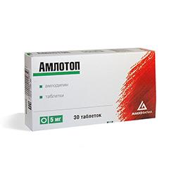 Таблетки Амлотоп