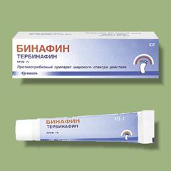 Крем 1% Бинафин
