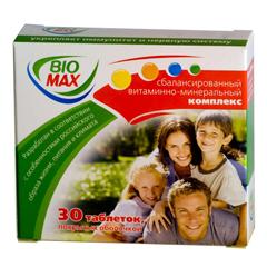 Таблетки, покрытые оболочкой, Био-Макс