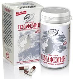 Капсулы Гемафемин